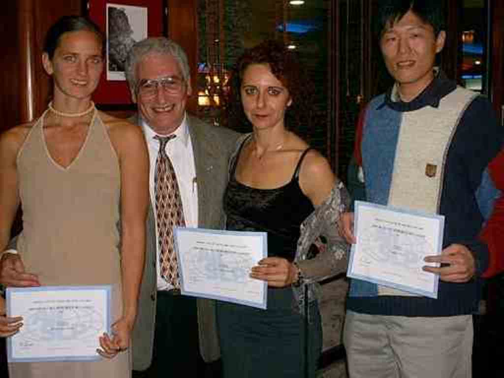 2001 Madeira (L-R) B. von Eimen, C. Chang, N. Tsangaridou