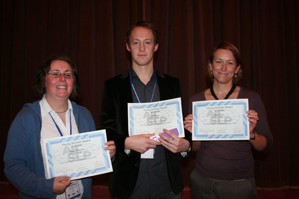 2008 Sapporo (L-R) H. Fitzgerald, B. Madou, A. Nelson