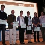 2010 La Coruna (L-R) P. Iserbyt, C. Webster, G. Erturan Ilker, S. Palomaki, M Coulter, T. Quarmby